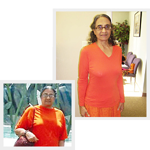 Sudha 28.2 lbs weight loss